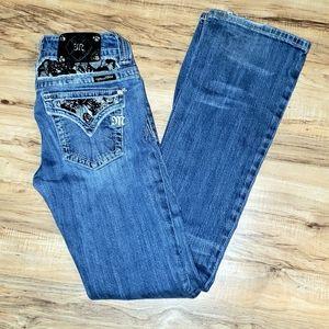 Miss Me | Lace Bling JP5002-2 Boot Cut Jeans